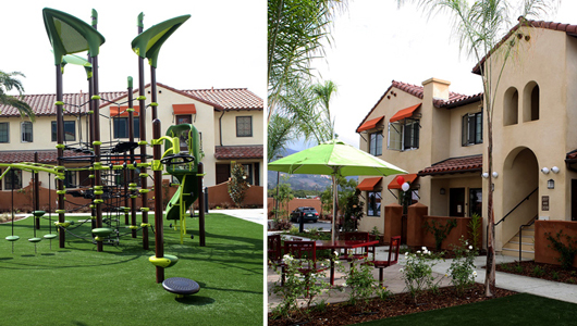 Photos of the grounds of Casa de las Flores